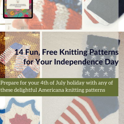 14 Fun, Free Knitting Patterns for Your Independence Day