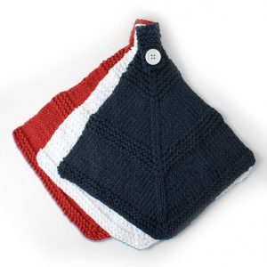 Red White & Blue dishcloth