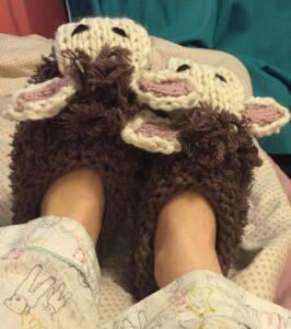 British Sheep Slippers