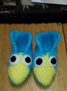 Eight Square Elf Slippers