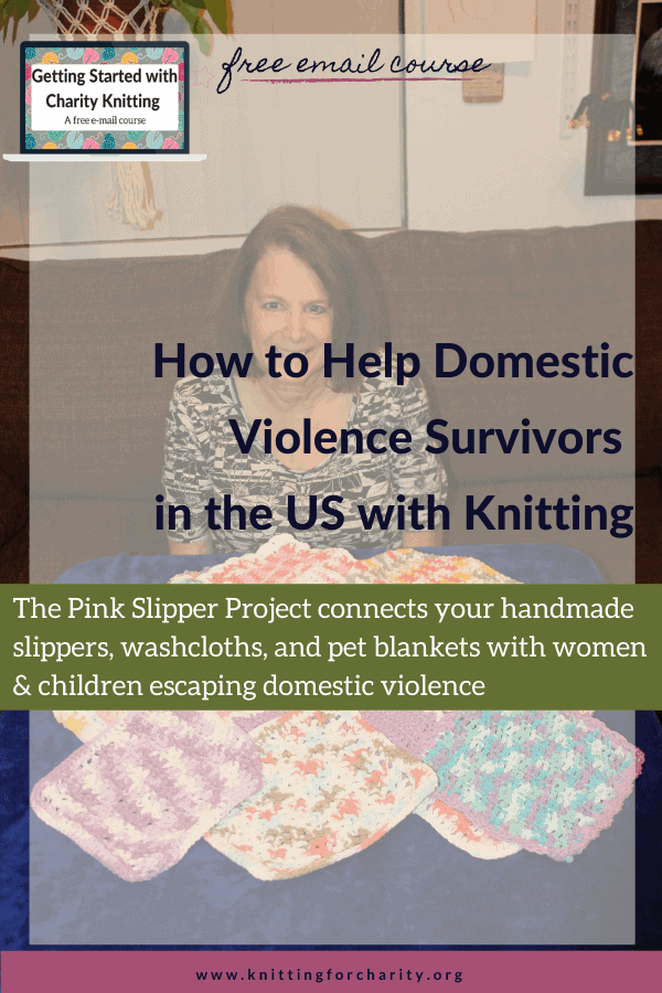 How to Help American Domestic Violence Survivors with Knitting