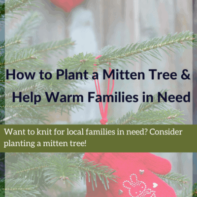How to Plant a Mitten Tree & Help Warm Families in Need