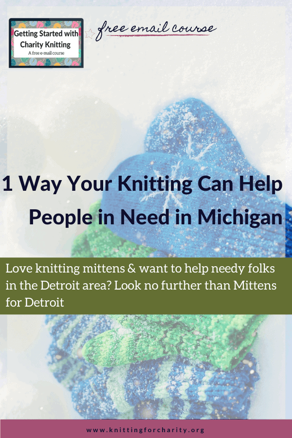 1 Way Your Knitting Can Help People in Need in Michigan