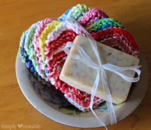Sweet Somethings dishcloths