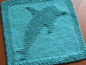 Dolphin Dishcloth