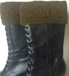 Boot Toppers - Brown Sheep