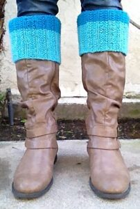 Color Block Boot Cuffs - Alice Humbracht