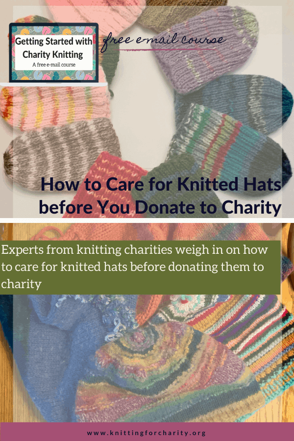 How to Care for Knitted Hats before You Donate to Charity