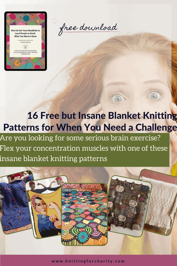 16 Free but Insane Blanket Knitting Patterns for When You Need a Challenge