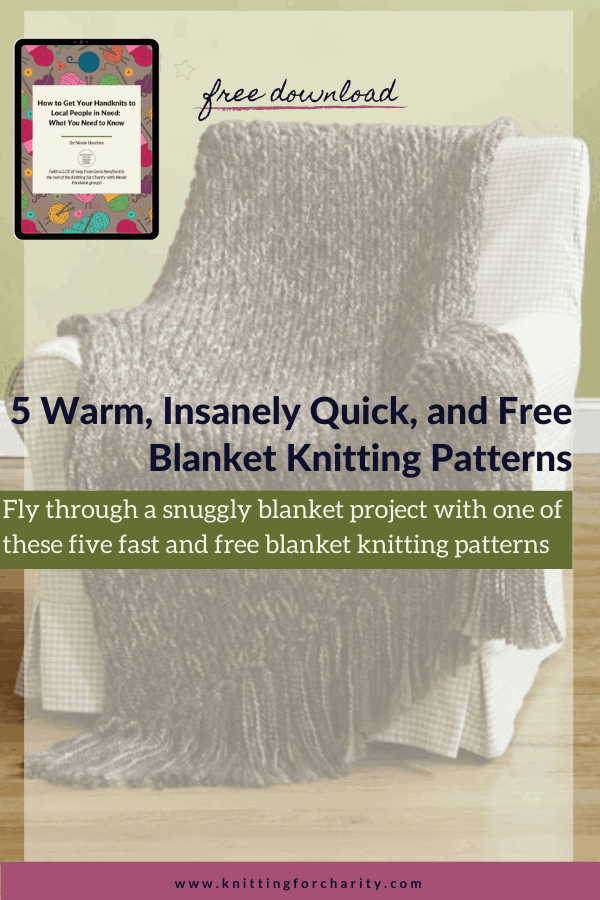 5 Warm, Insanely Quick, and Free Blanket Knitting Patterns