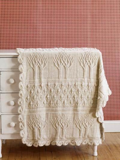 Tree of Life - insane blanket pattern