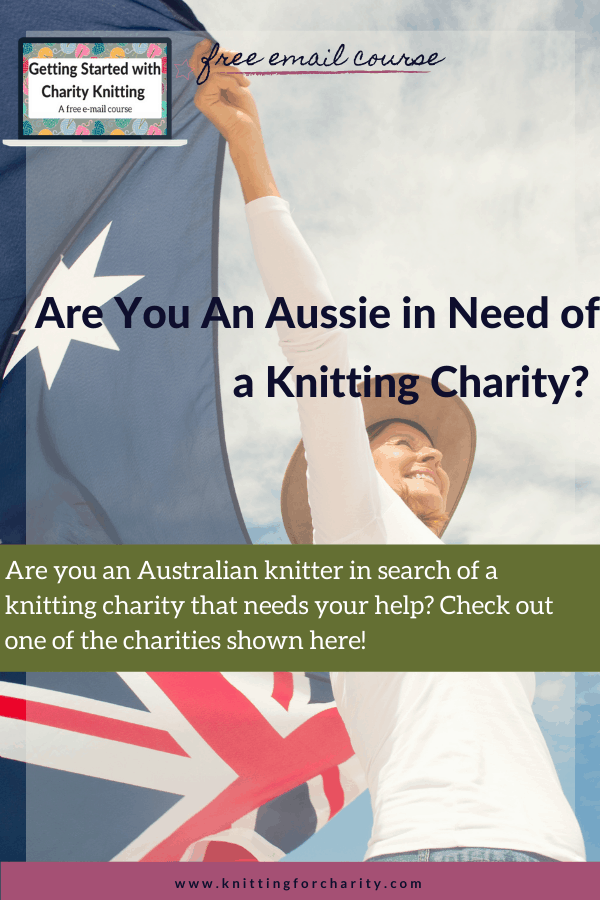 Australian knitting charities
