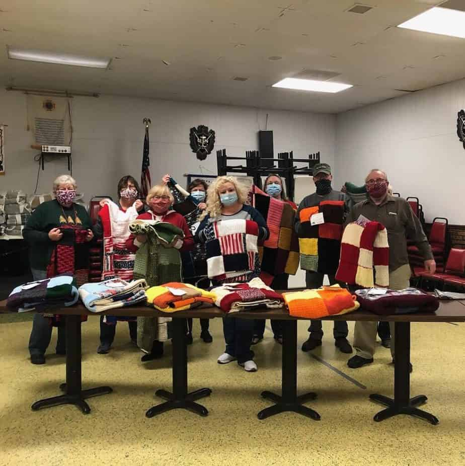 HAPpy Stitchers Afghan Project - charity knitting for veterans