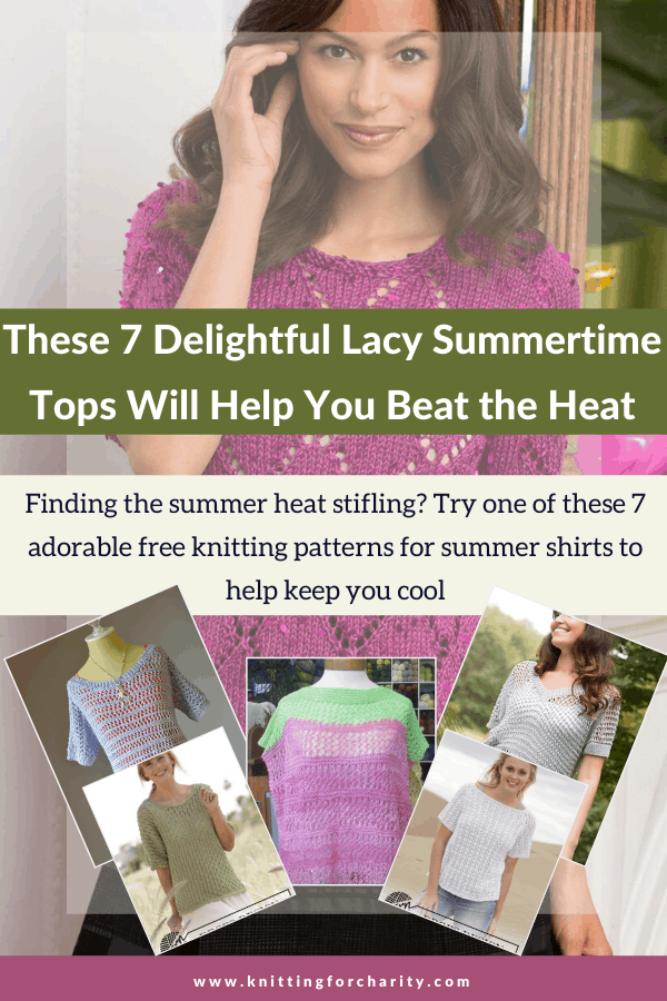 These 7 Delightful Lacy Summertime Tops Will Help You Beat the Heat