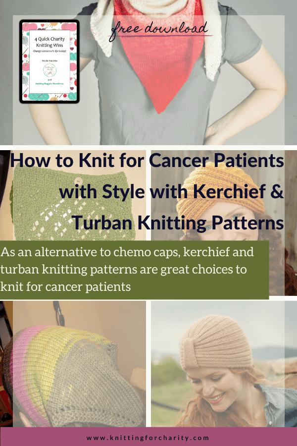 Kerchief and turban knitting patterns