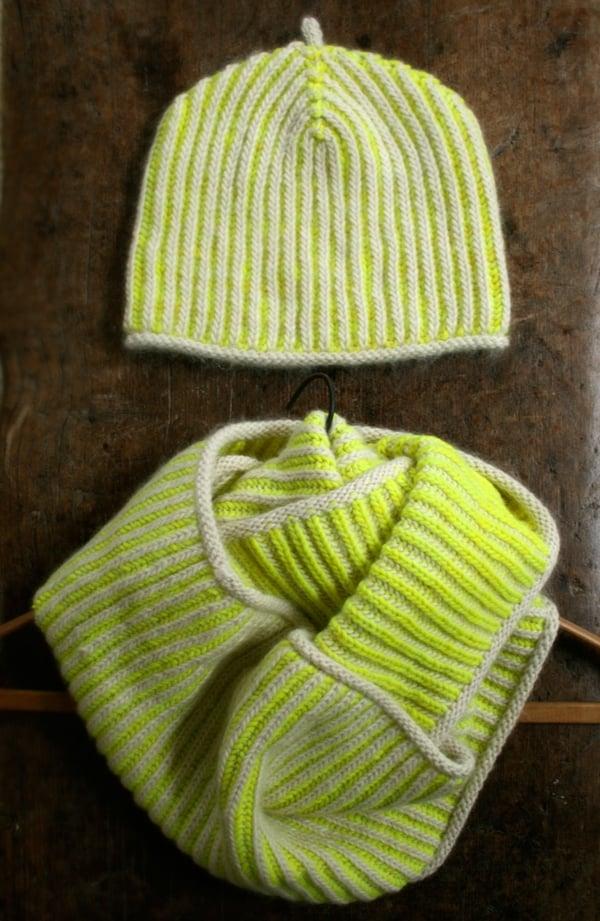 Gina's Brioche Hat & Cowl