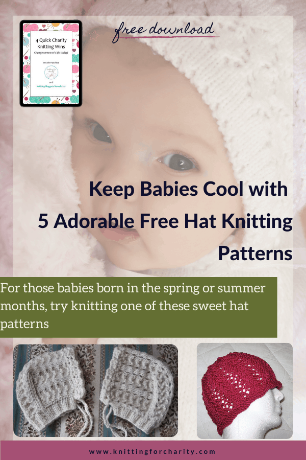 Keep Babies Cool with 5 Adorable Free Hat Knitting Patterns