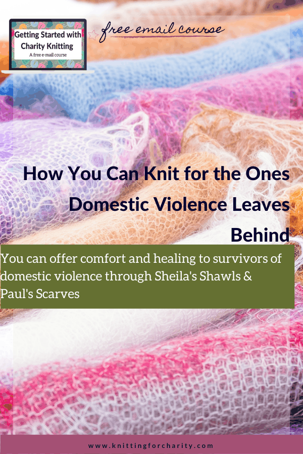 How You Can Knit for the Ones Domestic Violence Leaves Behind